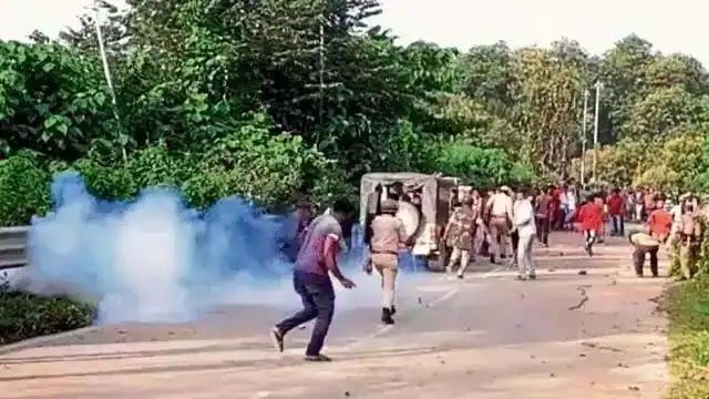 असम और मिजोरम  खूनी संघर्ष  में 6 की मौत 50 घायल माहोल तनावपूर्ण ,सीआरपीएफ की दो कंपनि तैनात