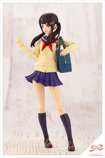 Figuras: Model Kit de Yuki Madoka de la línea Sousai Shojo Teien, Kotobukiya
