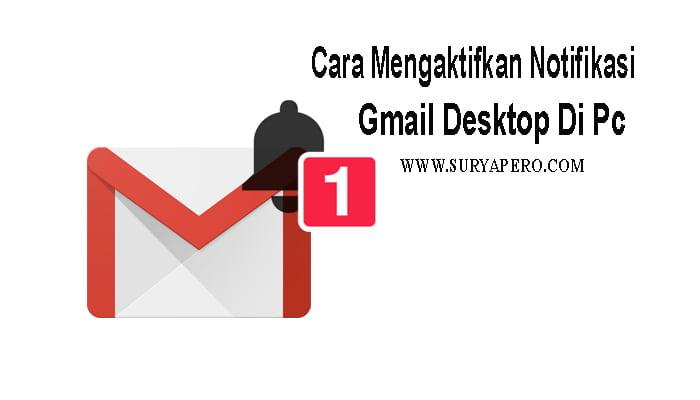 notifikasi email masuk di pc