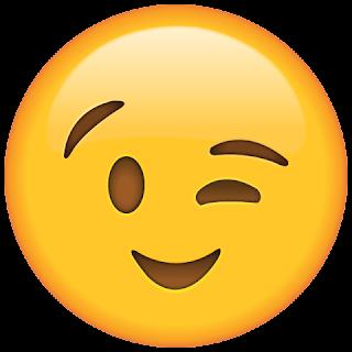 WhatsApp Wink Emoji