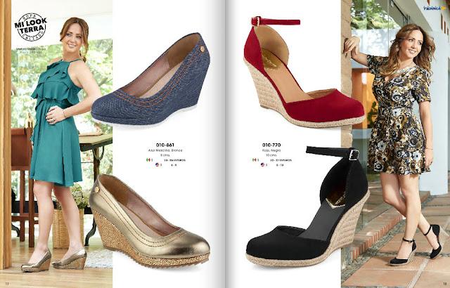 catalogo de zapatos mundo terra confort