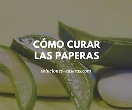 Remedios naturales para las paperas