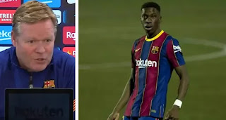 Koeman tips Ilaix Moriba to have a 'great future' at Barcelona