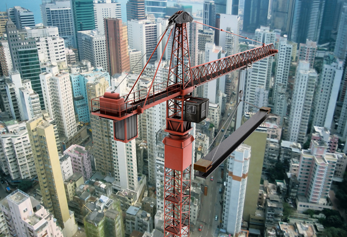 Tower Crane Ny : Tower cranes throughout the world ansi