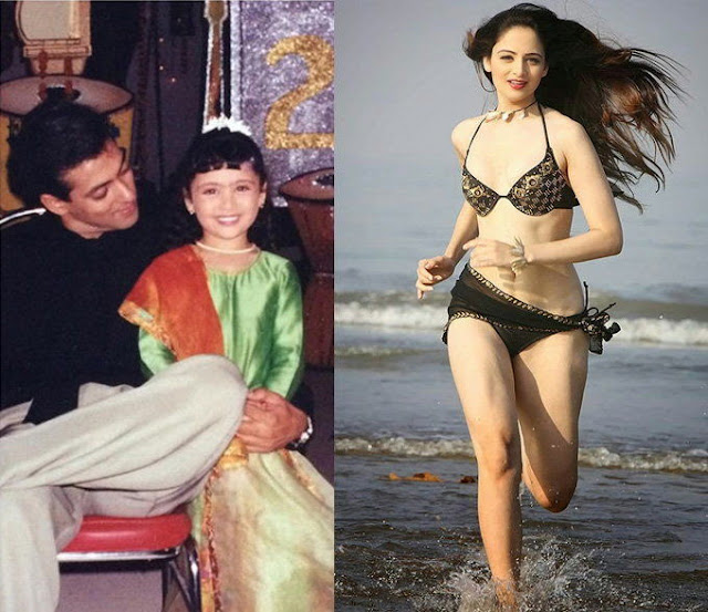 Zoya Afroz Childhood photos