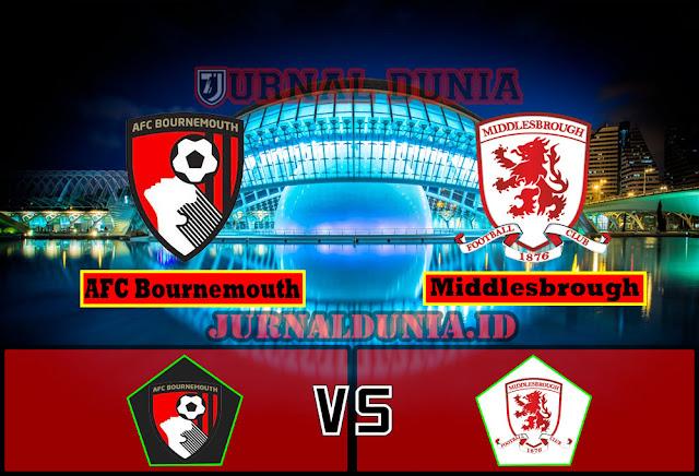 Prediksi AFC Bournemouth Vs Middlesbrough , Jumat 02 April 2021 Pukul 21.00 WIB
