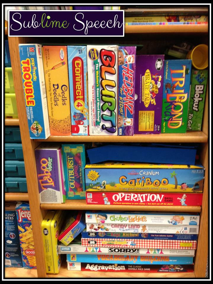 board games for articulation therapy