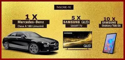 castigatori concurs Ferrero 2020 masina Mercedes A180