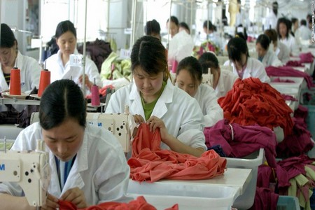 Apparel manufacturing process