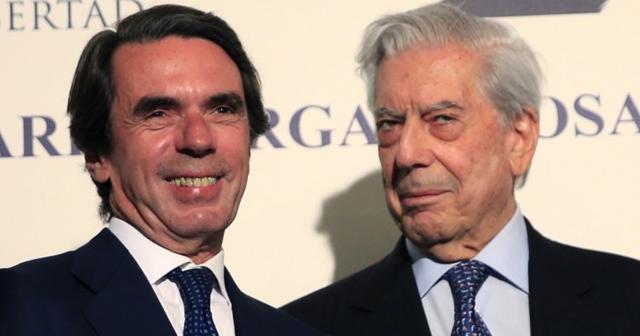 """Vargas LLosa, Aznar, Rivera, Alvarez de Toledo y Rosa Díez firman un manifiesto contra el """"autoritarismo"""""""