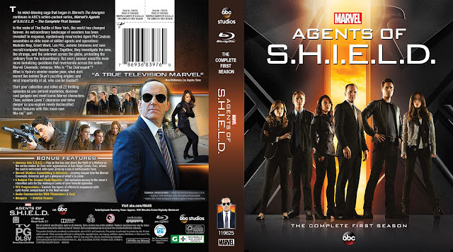 Capa Bluray Agents Of Shield Primeira Temporada Completa