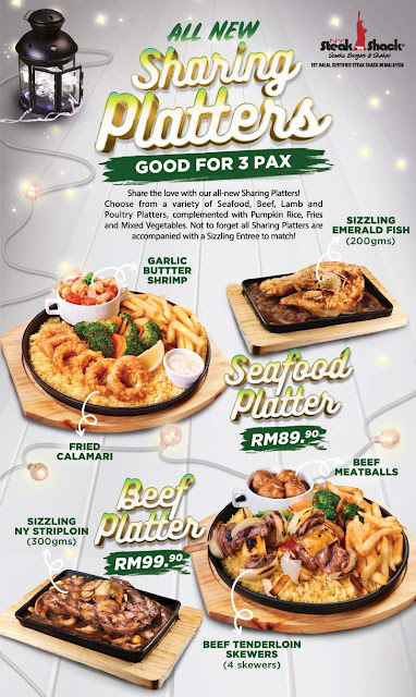 NY Steak Shack Ramadhan 2018 All Sharing Platter