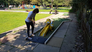 Crazy Golf at Southport's Botanic Gardens