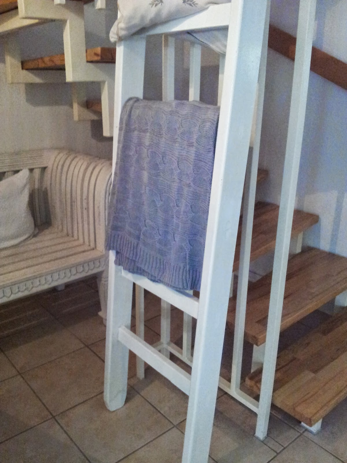 Elegant Alte Holzleiter Ideen