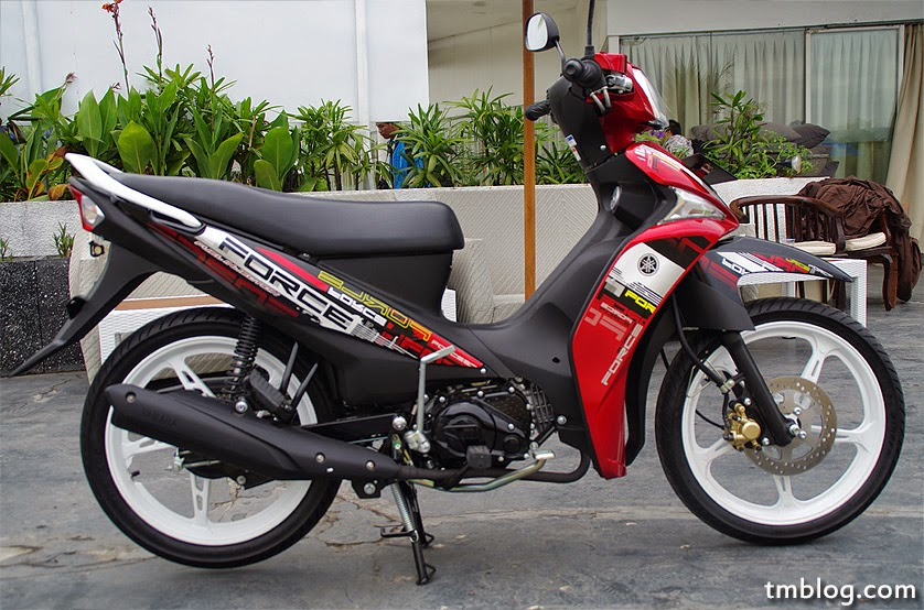 Modifikasi Motor Yamaha Force 1: Sport, Trek, Dan Harian
