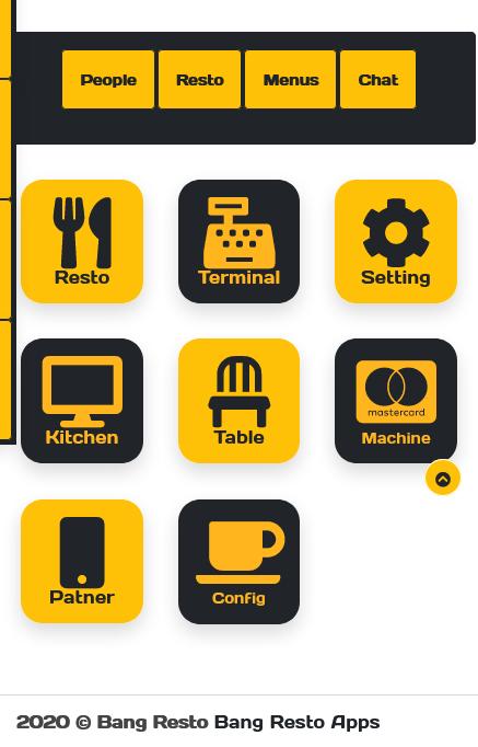 aplikasi restoran cafe website