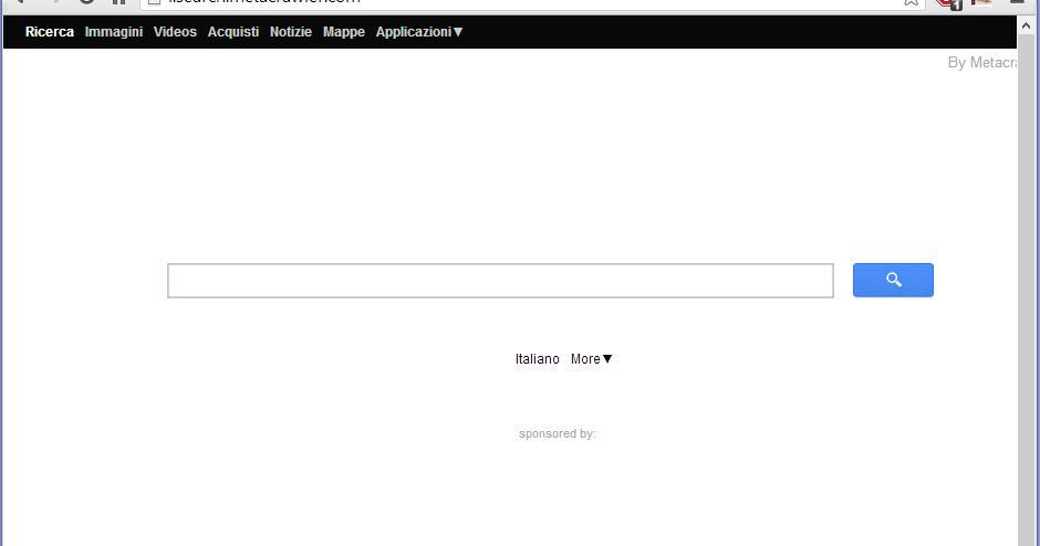 Guida per rimuovere i.search.metacrawler.com da pagina