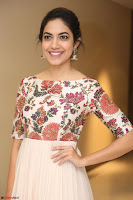 Ritu Varma smiling face Cream Anarkali dress at launch of OPPO New Selfie Camera F3 ~  Exclusive 104.JPG