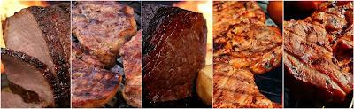 مجموعه متنوعه من اطباق اللحم اللذيذه