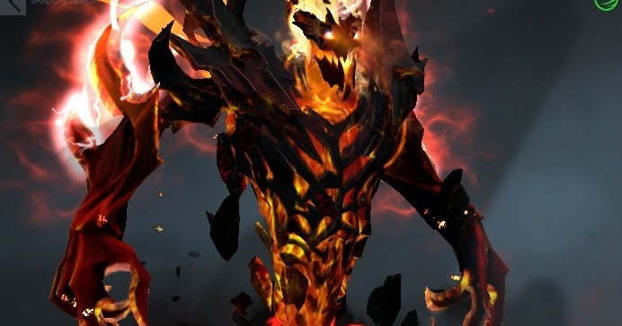 Shadow Fiend Demon Eater Arms Of Desolation Dota 2 Mods