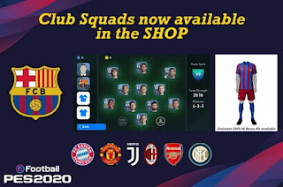 pes mobile android 2020 vs pes mobile ios 2020