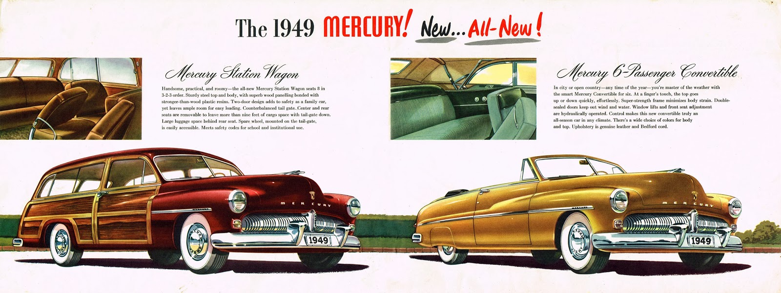 State Of The Market 1949 To 1950 Mercury Coupe Not A Lead Sled 49 Wiring Harness Brochure