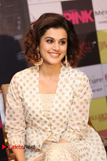 Actress Taapsee Pannu Pictures at Pink Press Meet  0020