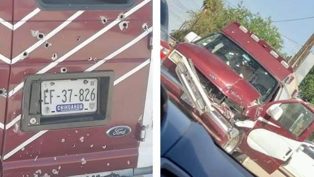 Sicarios rafaguean ambulancia en Sonora y rematan a joven; el chofer resultó lesionado
