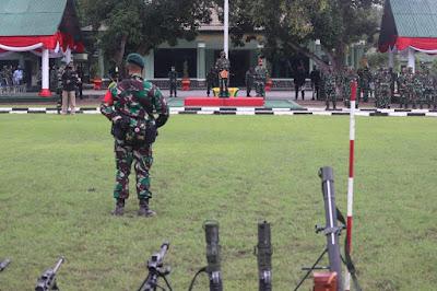 Panglima TNI Cek Kesiapan Yonif Para Raider 501/BY di Madiun