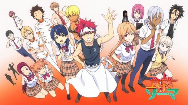 Food Wars! - Best J.C.Staff Anime list