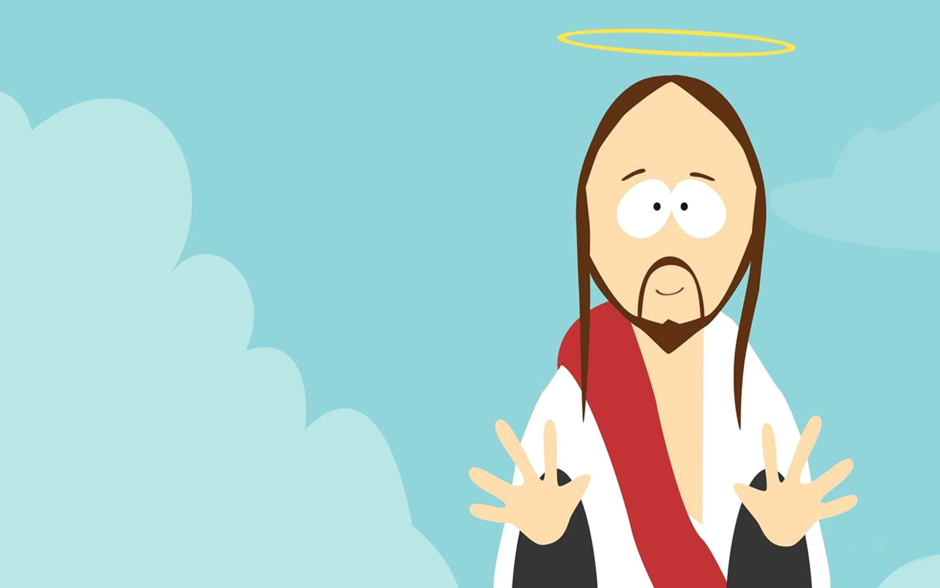 Jesus Cristo South Park Papel De Parede Gr 225 Tis Para Pc Hd
