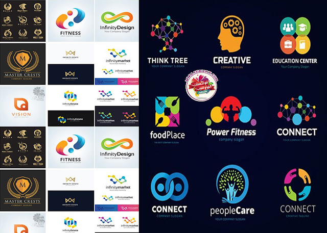 Download logo variety of vector illustrations