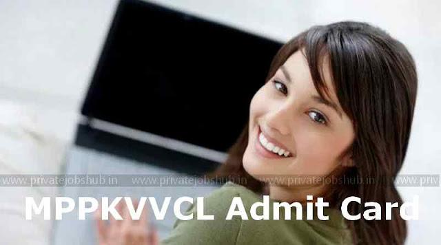 MPPKVVCL Admit Card