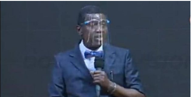Worshipers with no face mask barred from Pastor Adeboye's crusade