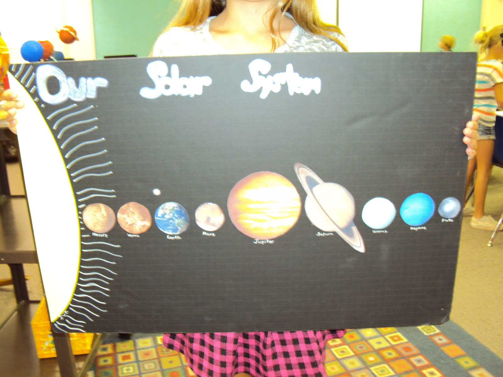 Solar System Projects For School Students - aidan with ...