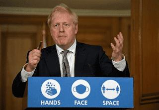 Primer Ministro Boris Jhonson