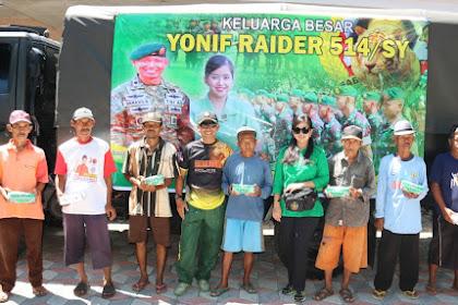 Danyonif Mayor Inf. Danang Biantoro S.I.P, M.Si, Berharap Kehadiran Prajurit Yonif Raider 514 Kostrad Selalu Dirindukan Oleh Masyarakat Tercinta