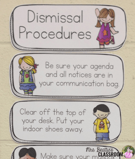 Photo of dismissal procedures chart