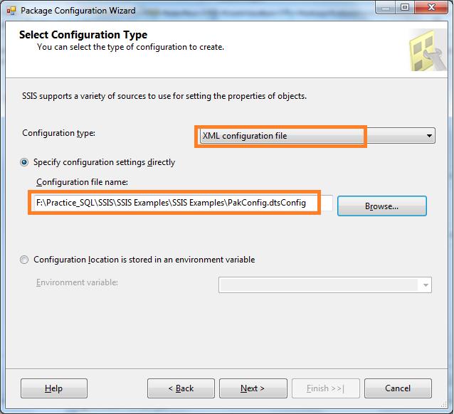 Microsoft SQL Server Knowledge Bank: XML Configuration Files