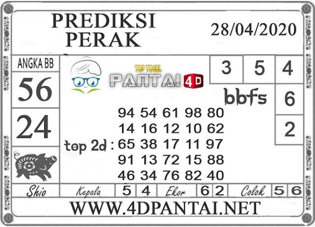 PREDIKSI TOGEL PERAK PANTAI4D 28 APRIL 2020