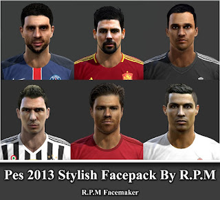 Pes 2013 Stylish Facepack By R.P.M