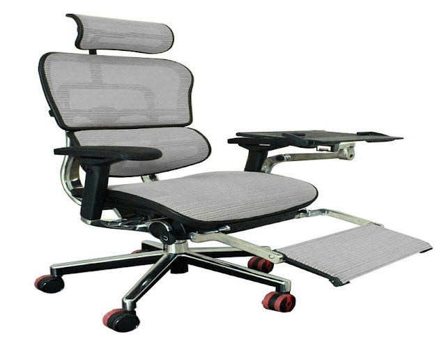 best buy ergonomic office chair with leg support for sale
