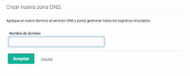 Agregar dominio .com.ve a CDMON