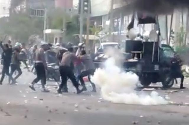 2 Polisi Retak Tulang Pipi-Rahang Saat Rusuh Massa di Kendari, Akan Dibedah