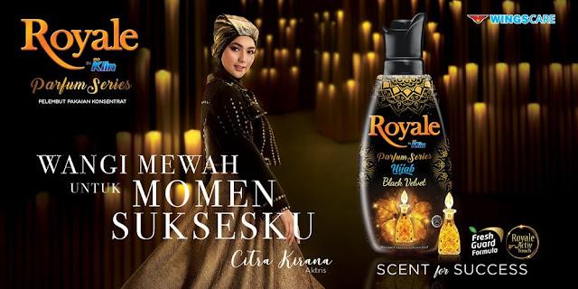 Wangi Khas Royale Soklin Hijab Black Velvet bagi Citra Kirana