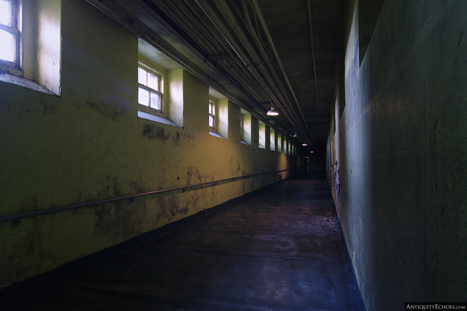 Allentown State Hospital - Patient Tunnel