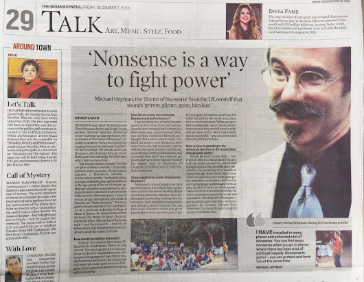 Nonsense fighting the power, at home and abroad!