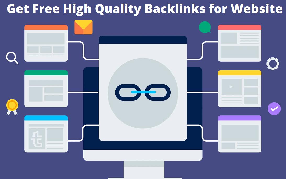 Free High Quality Backlinks