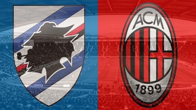 مباراة سامبدوريا وميلان الدوري الإيطالي بث مباشر