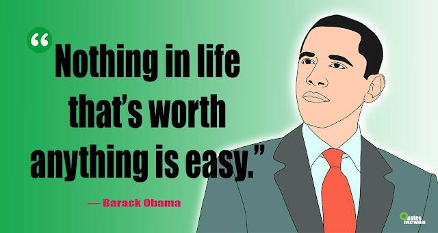 Barack Obama Quotes on love